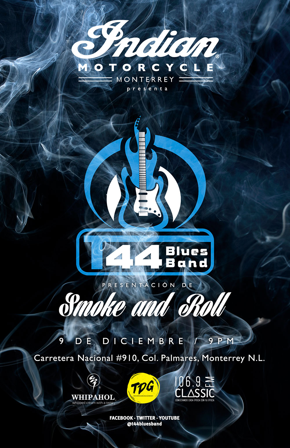 T44 Blues Band @ Indian Motorcycle