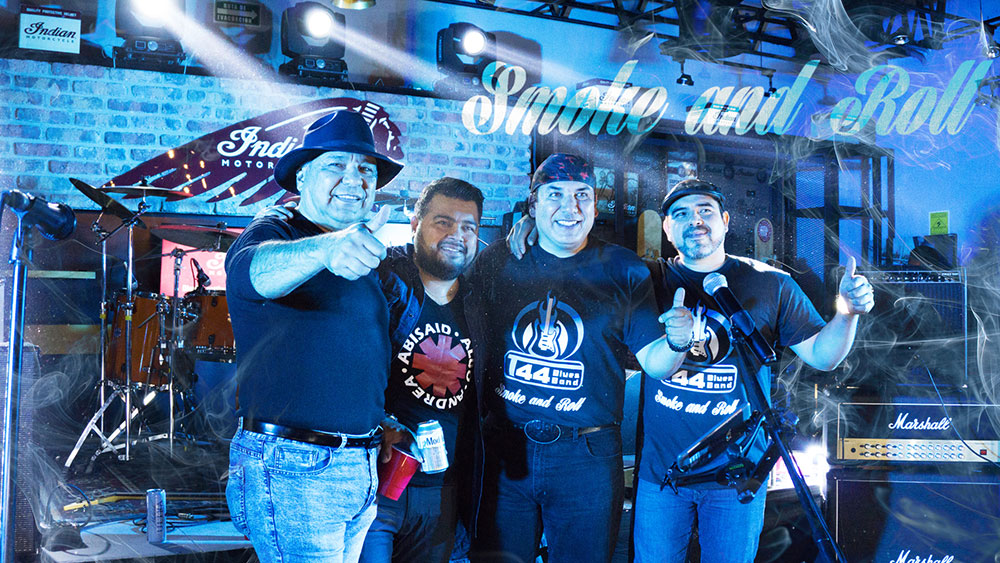 T44 Blues Band presenta #SmokeAndRoll con INDIAN MOTORCYCLE #Monterrey